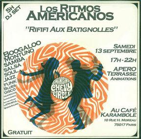 Los Ritmos Americanos Dj Set - 13/09/2008 - Karambole Café