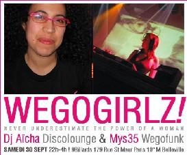 Wegogirlz # 3 - Sam 30 Septembre 2006 - XXL Session
