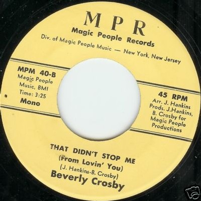 Beverly Crosby - That Didn't Stop Me