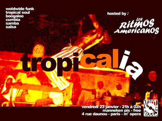 Tropicalia#3 -  Afro & Latin Funk by Wegofunk - Vendredi 23 Janvier à Paris