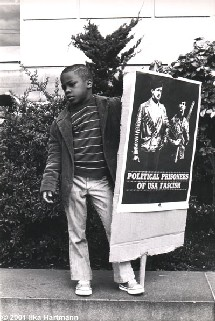 Child at Black Panther Party Rally, San Francisco, February 11th, 1970