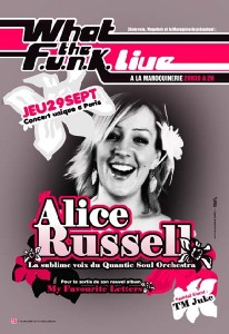 What the FUNK #20 Live - 29 Septembre 2005 - Alice Russell