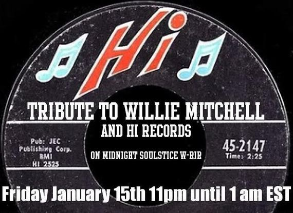 Midnight Soulstice par Dj Pari : New Funk & Soul Vol. 3 - Tribute to Willie Mitchell