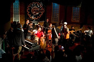 A banda Grooveria