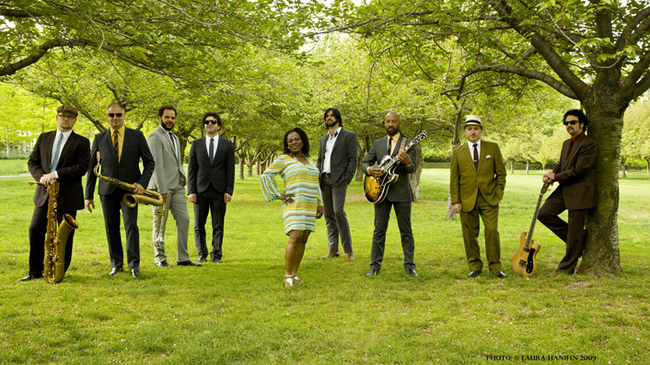 Sharon Jones and the Dap-Kings en tournée
