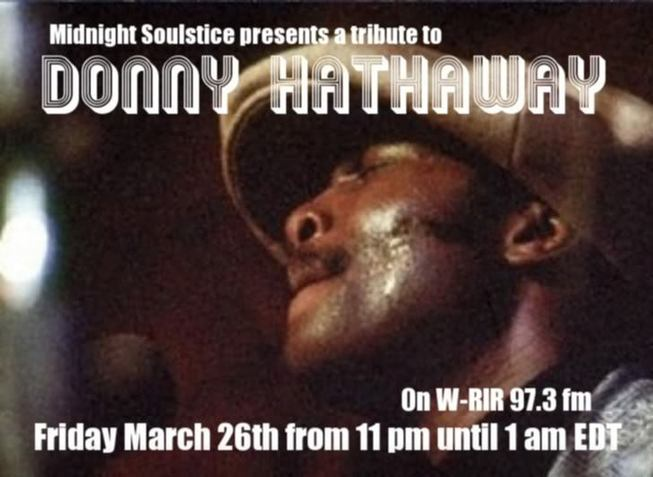 Midnight Soulstice par Dj Pari : Tribute to Donny Hattaway