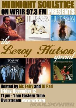 Midnight Soulstice par Dj Pari : Tribute to Leroy Hutson