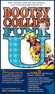 Rentrée des classes avec Bootsy Collins à la  Funk University