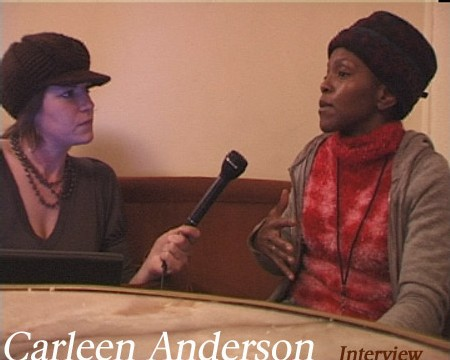 Interview -  Carleen Anderson : The voice of Acid Jazz (english&french)