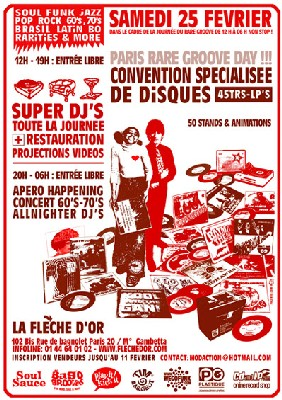 ParisRareGroove Day - Convention + Dj + Concert + Soirée 25 Fév 06