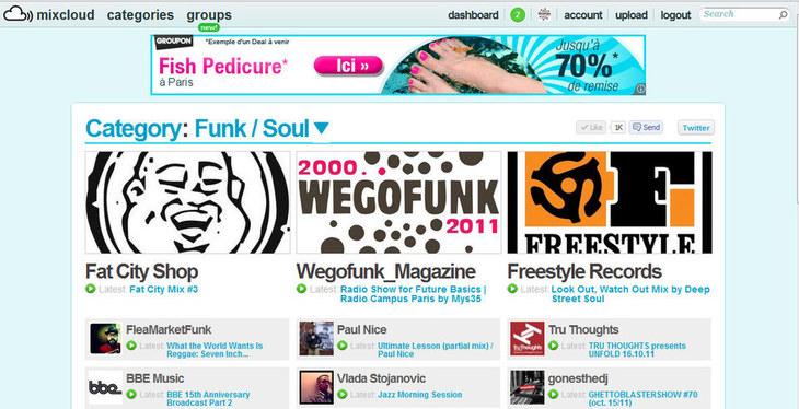 Wegofunk est à l'honneur sur Mixcloud