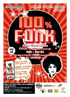 100% FUNK le 8 avril à Cergy ... Back in the days !!!