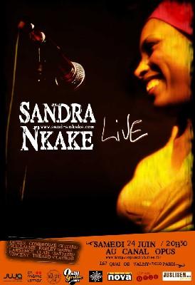 Qui veut la voix de Sandra Nkake ? En concert le 24 Juin 2006