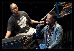 Robert Glasper & Bilal (Cité de la Musique, 2010, photo Vincent B.)