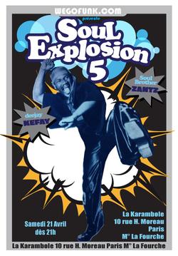 Soirée Soul Explosion #5  à La Karambole, le 21 avril 2012 (Disquaire Day)
