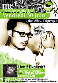 ::: L'OEIL DU SON#8 ::: Me 1 Full Band, Leo, DJ Yellow et Kids in Tracksuit ::: VENDREDI 30 JUIN