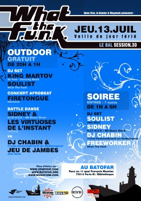 LE BAL WHAT THE FUNK #30