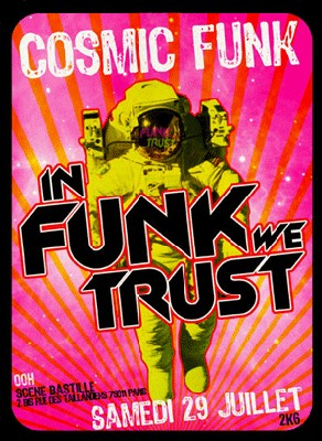 In Funk we Trust - Cosmic Funk