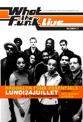 What the Funk #31 - Brooklyn Funk Essential / 24 Juillet 2006