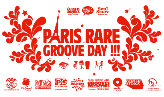 Edition #12 du Paris Rare Groove Day