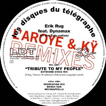 Erik Rug feat Dynamax - Tribute To My People... (L'Aroye & Kÿ Remixes)
