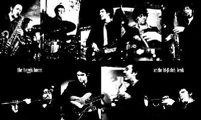 Haggis Horns : Funk band from Leeds, England