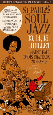 Saint-Paul Soul Jazz Festival – First Edition – 2006