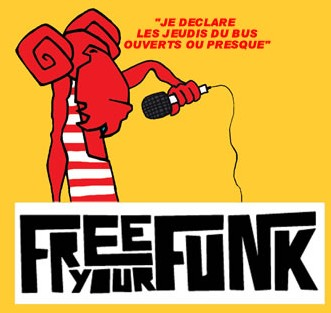 Free Your Funk investit le Bus Palladium dès le 7 septembre