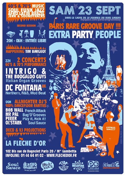 Paris Rare Groove Day - 23 Septembre 2006