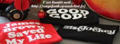 Des tee-shirts funky pour tous les funky people !