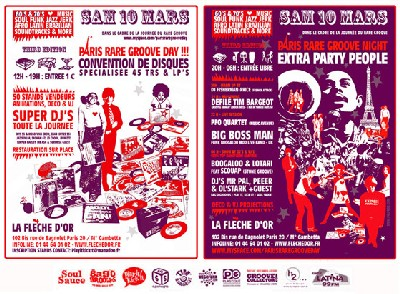 Paris Rare Groove Day #3 - Samedi 10 Mars 2007