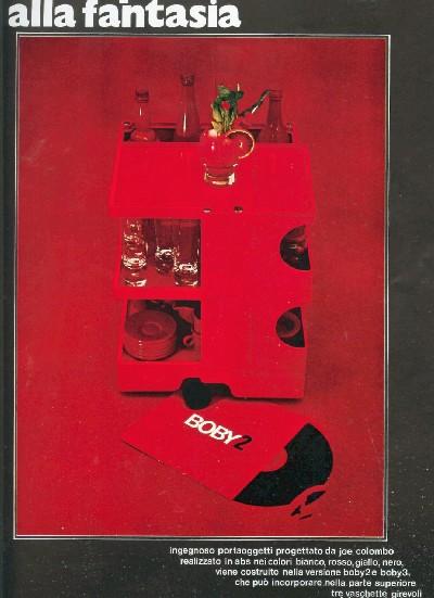 Exposition de Joe Colombo au musée des Arts Décoratifs (Paris)