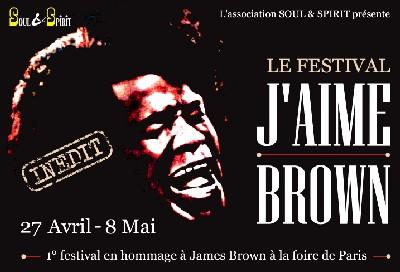 Festival Moi Aussi J'aime Brown du vendredi 27 avril au lundi 8 mai 2007 (Paris)