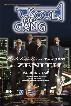 La tournée Kool & The Gang est reportée au mois d'Octobre 2007