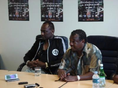 Compte-rendu de la conférence de presse de Kool and the Gang du 27 juin 2007 à Paris