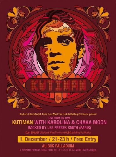 Kutiman en live à Paris, 1er Décembre 2007  GRATUIT