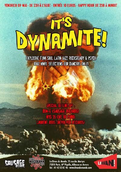 It's Dynamite (Mys35+Dom-e) / Divan du Monde / 9 Mai