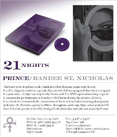 Prince sort un livre