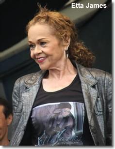 La tournée d'Etta James est annulée