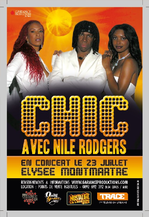 Chic en concert à Paris !