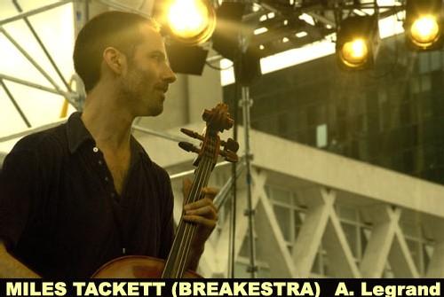 Breakestra au Festival Jazz de la Défense le 3 juillet 2008