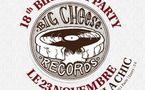 Big Cheese Records fête ses 18 ans à la Favela Chic le 23 novembre 2011