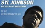 Syl Johnson remonte sur scène avec Breakestra à Los Angeles