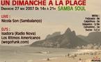 Un dimanche à la plage - Samba Soul - Dim 27 Mai (organisé par wegofunk.com)