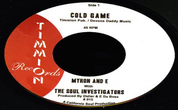 Myron E with The Soul Investigators