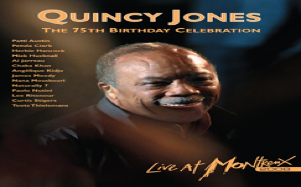 Quincy Jones live  à Montreux 2008 - 75ème anniversaire
