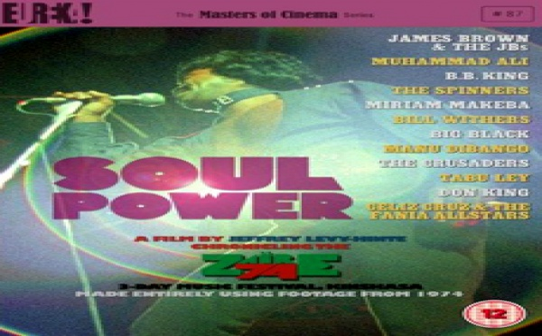 Soul Power, le DVD