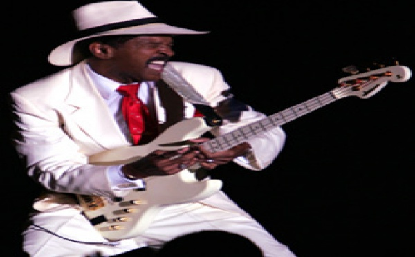 Larry Graham en concert à Paris