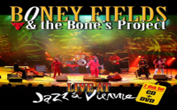 Boney FIELDS Live at Jazz à Vienne (Vidéo)