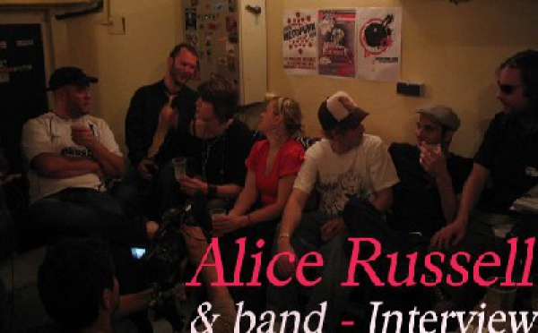 Interview (Video) - Alice Russell, TM Juke et son groupe